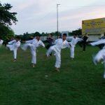 talaud - latihan karate